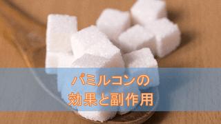 パミルコン錠の効果と副作用【糖尿病治療薬】