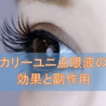 カリーユニ点眼液(ピレノキシン)の効果と副作用