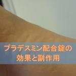 プラデスミン配合錠の効果と副作用【抗アレルギー薬】