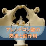アレンドロン酸の効果と副作用【骨粗しょう症治療剤】