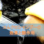 コムクロシャンプーの効果と副作用【外用ステロイド薬】